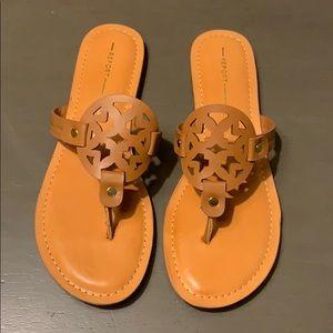 Report Sandals—similar to Tory Burch Miller Sandal